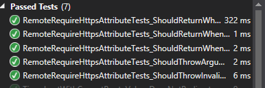 Figure: Passing Unit Tests